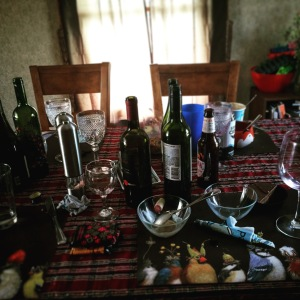 We drank ALL the wine.